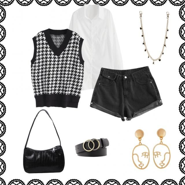 It&;s an outfit to dress as I see it, then if you like it you can copy it
