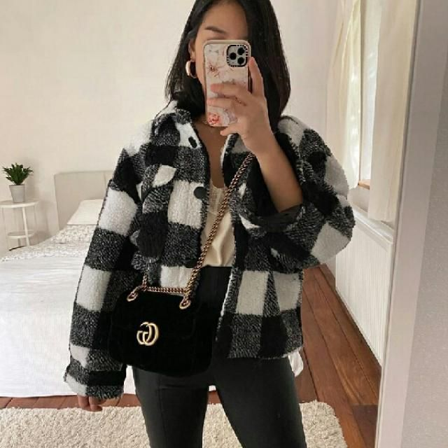 I can't stop recommending plaid jackets everyone should get them they are the trend abd looks awesome with everyth…
