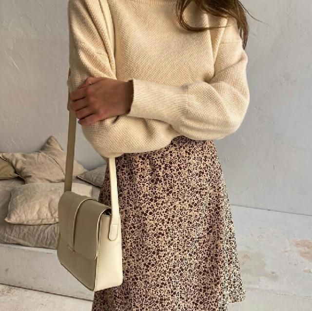 keep it chic and fancy with this turtleneck sweater. leopard print skirt