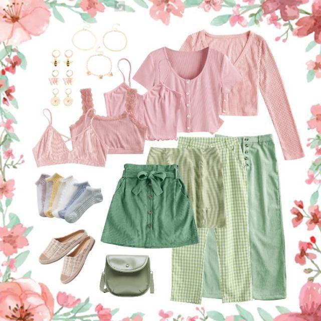 Picnic wardrobe 🌸🎀🍏🍃