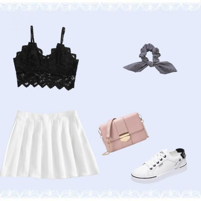 THis would be such a cute outfit idea ahhhh I love it