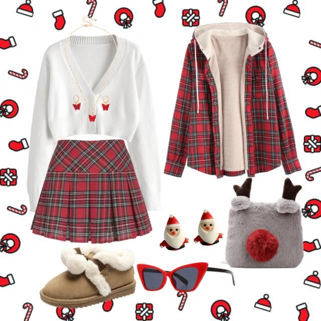 Cute and comfy Christmas outfits to go