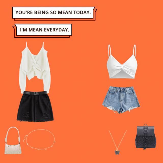 Mean girl outfit