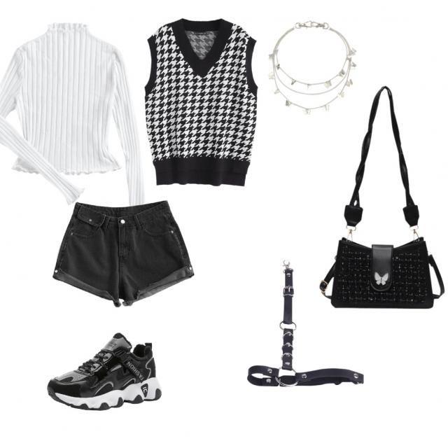 Grunge/trendy