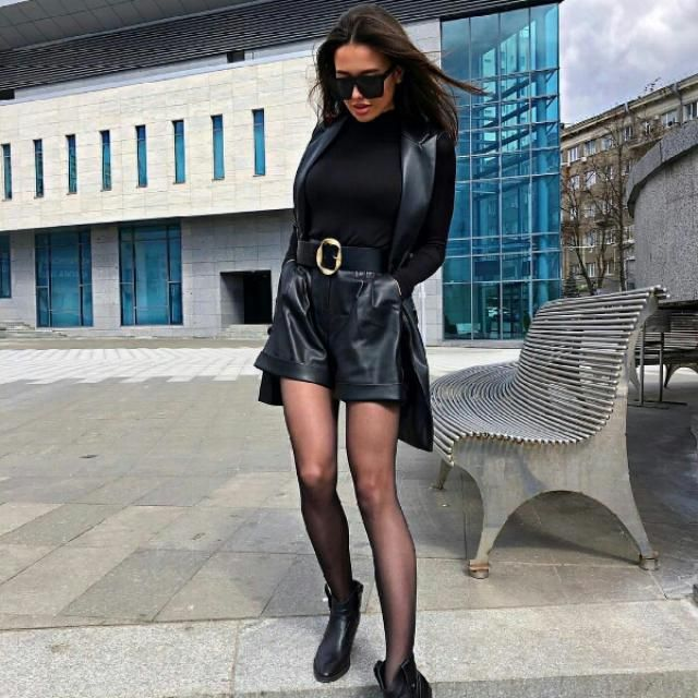 love thisedge black faux leather look