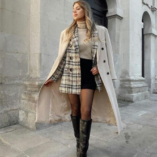 for an elegant outfit try this look