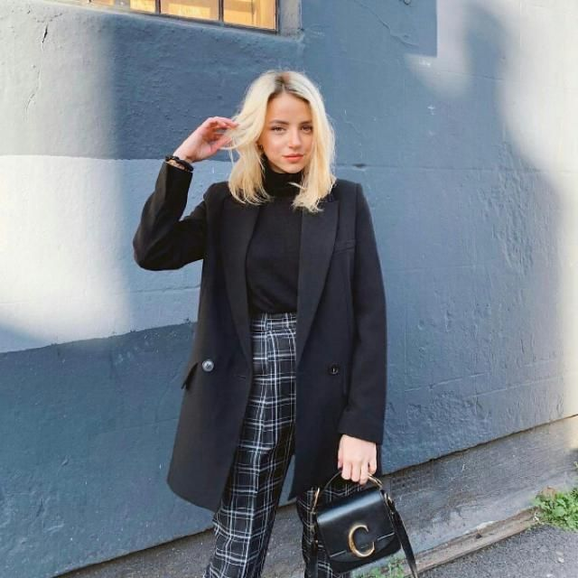 for a chic Parisian-inspired look try this outfit