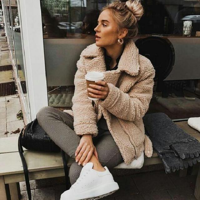winter teddy coat