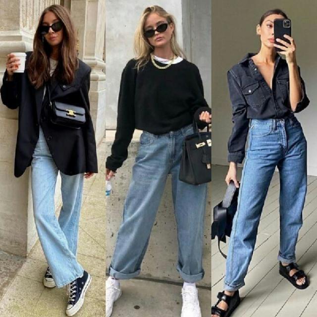 do you like baggy jeans I really like them it's so 90s style