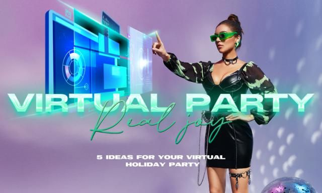 【Virtual Party, Real Joy】 5 virtual online theme dress up are ready for you. How would you dress up if you were about t…