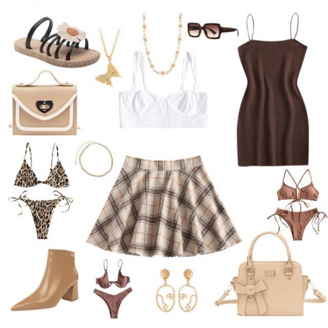 Pretty in brown