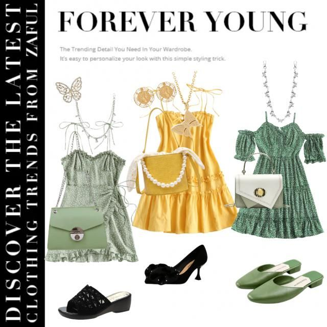 I am Gemini that&;s why I chose outfits that will look good not just for me but also for everyone. Yellow and Green i…