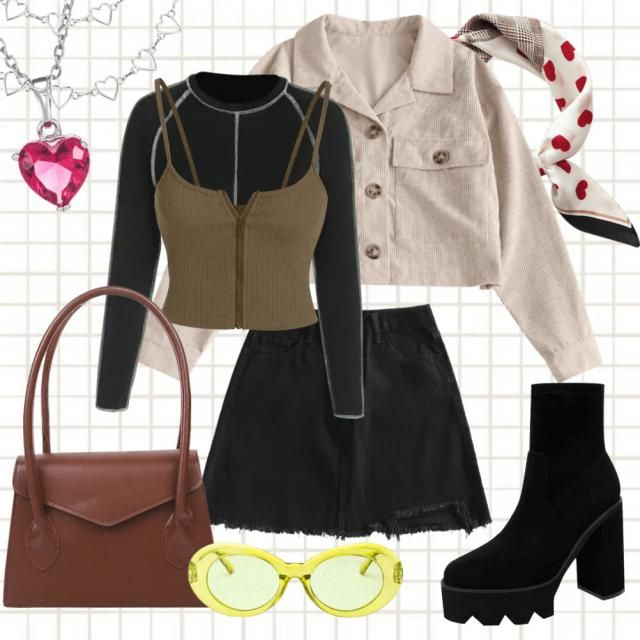 outfits I&;d wear for that tiktok trend where they drive a car