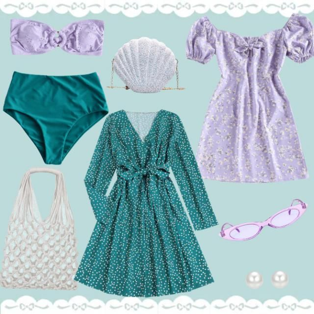 the little mermaid collection. mix and match