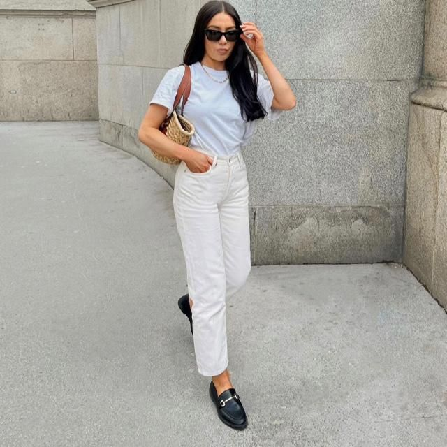 Hey! Do you like wearing all white? I'm inlove with same Color outfit