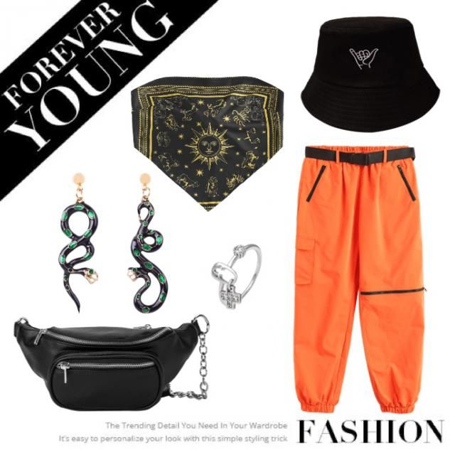 Orange cargo ✨