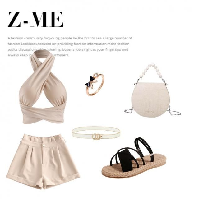 nice cute minimalistic outfit for your date or ladies night out with friends. Turn it up with earrings in gold or tu…