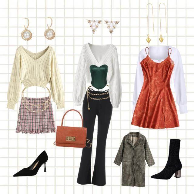 No he podido evitar crear tres outfits distintos[>-<]/  (^-^)/   Me ha faltado ponerle algunos collares a…