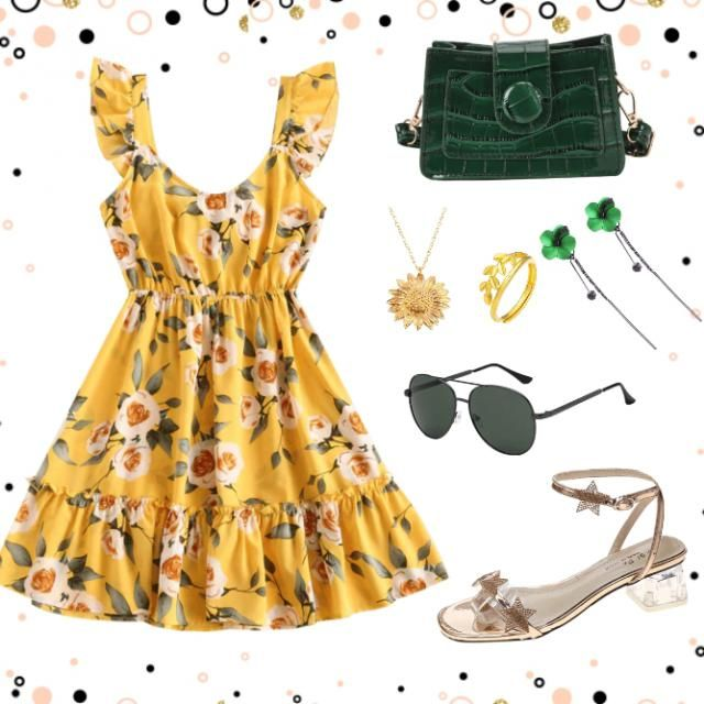 My inspiration for this outfit is designer Grace, the retro outfit highlighted the waistshape which makes the wearer l…