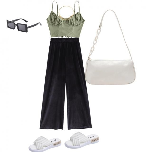 This is such a cute outfit for summer!!