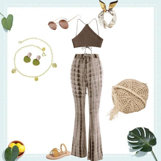 Everytime I think of summer Boho comes to mind. Free spirited, Breezy Naturalist is the inspiration in this outfit.