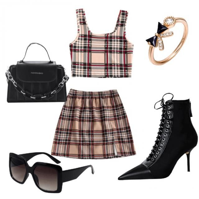 Clueless inspired look