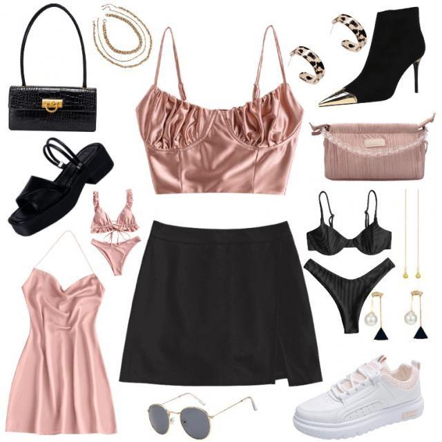 pink satin :)