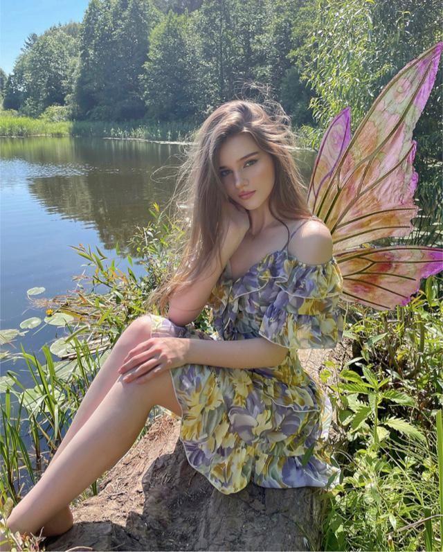 weightless dress, adds magic🧚♀️❤️