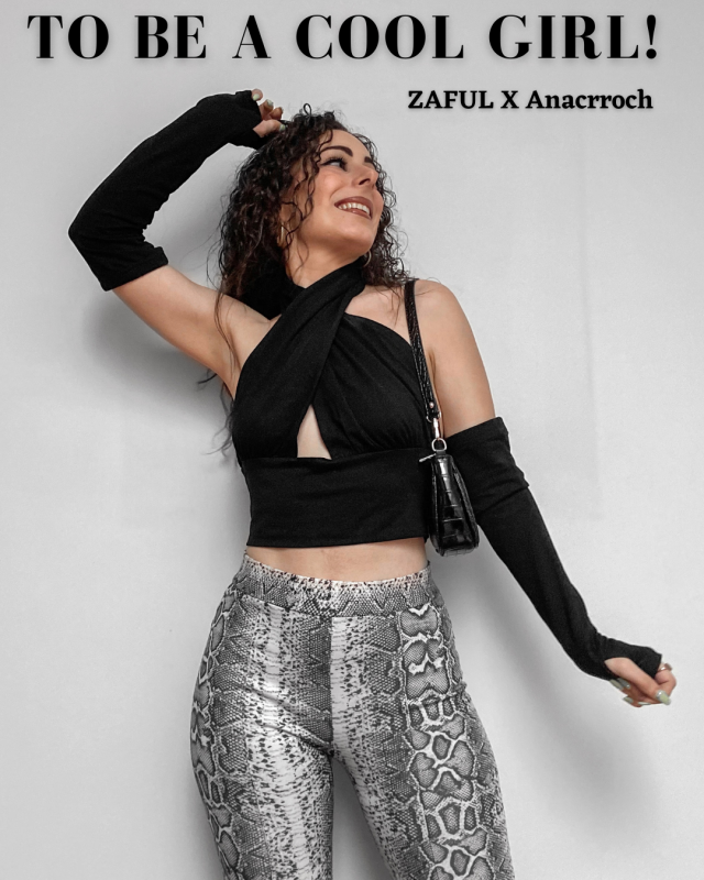 To Be A Cool Girl! ZAFUL X Anacrroch  Check our new Lookbook and comment below with your fav look!