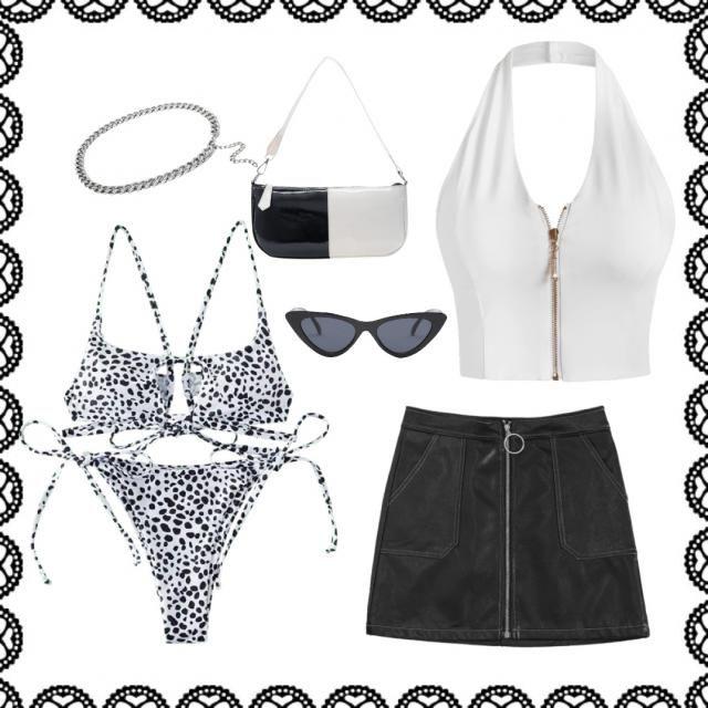 Black and white theme