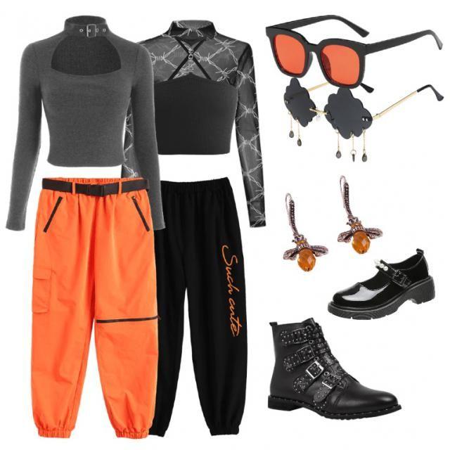 OrangeBlack colour combination
