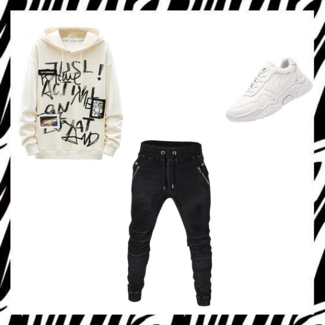That&;s  my boy outfit.If you liked it let me know.