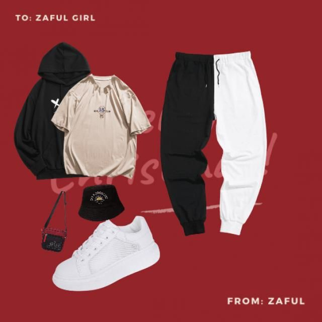 tracksuit and sneakers